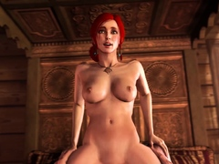 Game Girls Big Bouncing Tits is Used as Sex Slaves