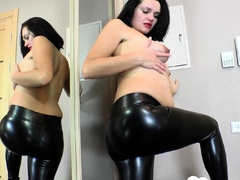 prego-beauty-trying-out-some-latex-pants