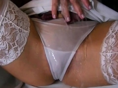 Passionate Leony Aprill and nana is about to have an orgasm