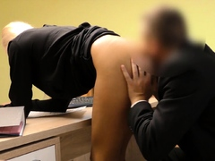 Loan4k. Real Estate Agent Lets The Bank Worker Penetrate Her