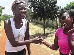 Authentic Ebony Lesbian Couple Sex Tape