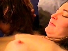 MFF Bi girl gets caressed and fondled
