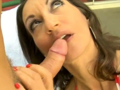 In this video, we have the sexy Persia Monir showing off
